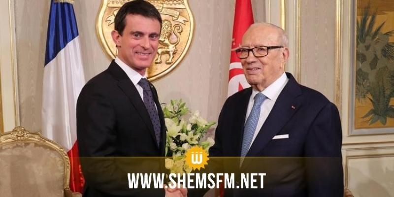 Manuel Valls à Tunis pour une conférence internationale des investisseurs