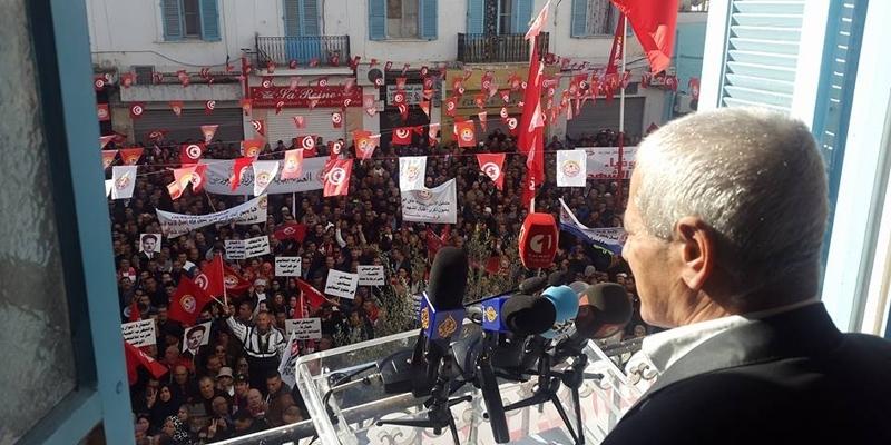 Le syndicat UGTT annule la grève générale prévue le 8 décembre — Tunisie