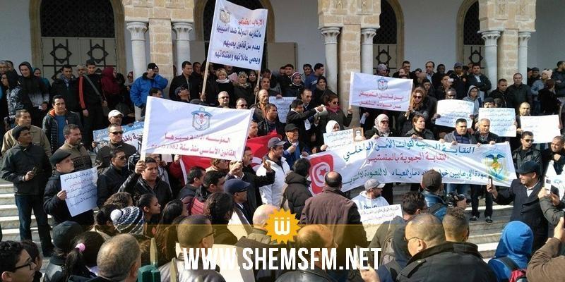 Monastir : protestation des forces de sécurité 1486640878_article