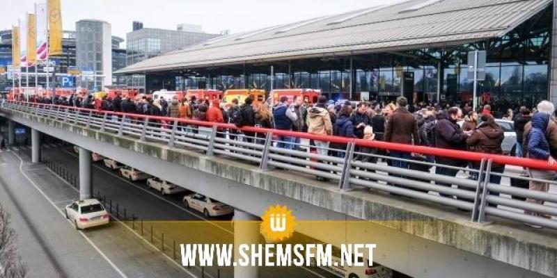 Une cinquantaine de personnes intoxiquées par des gaz à l'aéroport de Hambourg