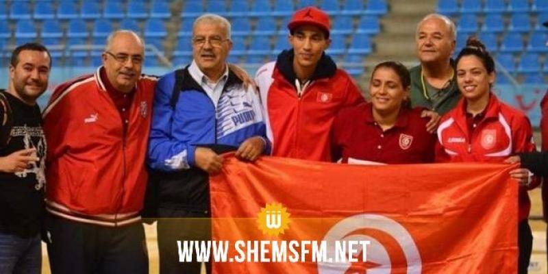 La Tunisie championne du monde de doublette mixte — Pétanque