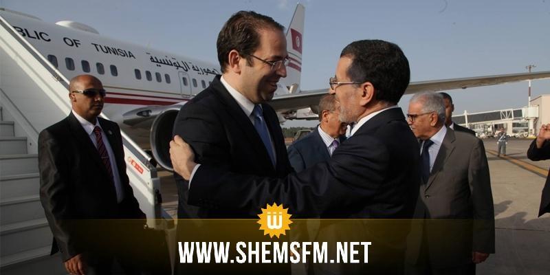 Le chef du gouvernement tunisien reçu par El Othmani — Maroc