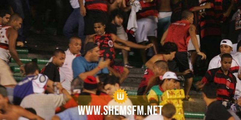Un supporter tué par balle après un derby — Brésil