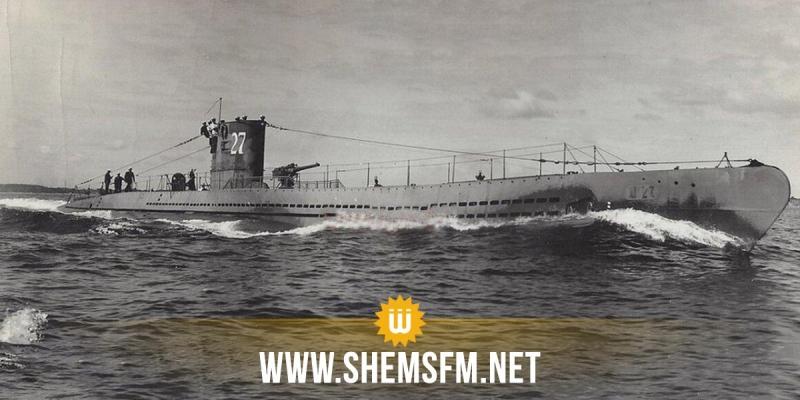 Un sous-marin de la 1è guerre mondiale découvert en Mer du Nord les restes des membres d'équipage sont encore à bord