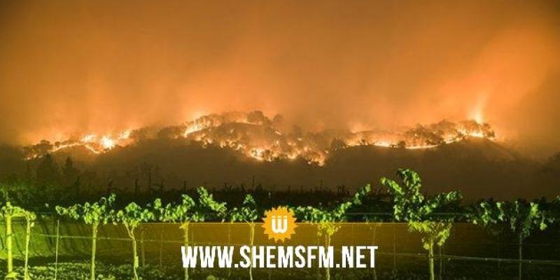 Nouvelles évacuations à Santa Barbara — Incendie en Californie