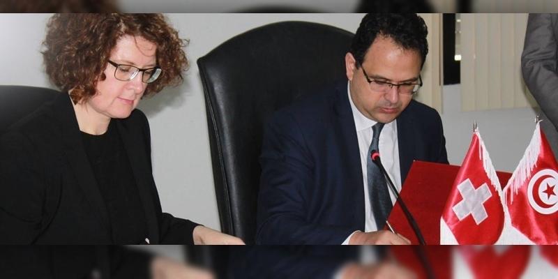 التوقيع على اتفاقية حول برنامج دعم الصادرات التونسية نحو سويسرا