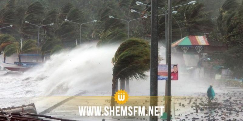 Les terribles images de la tempête tropicale Tembin qui balaie l'archipel — Philippines