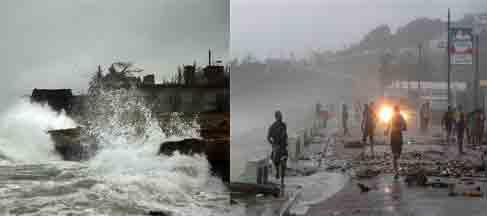 """حالة طوارئ بولايات أميركية جراء العاصفة الاستوائية """" إيزاك """""""
