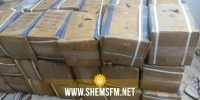 حجز بضائع مهربة بقيمة 633 الف دينار في عدد من مناطق البلاد