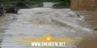 سليانة: مياه وادي الخروب تجرف إمرأة خمسينية وعددا من خرفانها