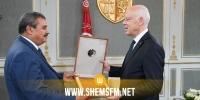 رئيس الجمهورية يلتقي رئيس هيئة السوق المالية صالح الصايل