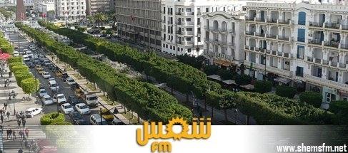 وقوف وجولان السيارات بشارع الحبيب بورقيبة الجمعة media_temp_138504867