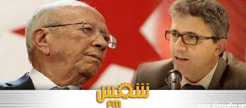 """عدنان منصر :"""" يكون هناك يساري واحد قائمات نداء تونس"""" media_temp_139215117"""