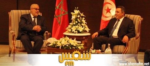 وطني رئيس الحكومة يلتقي الوزير الأول المغربي media_temp_141011732