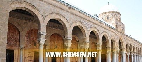 أنصار الإمام حسين العبيدي ينشرون الفوضى جامع الزيتونة media_temp_142028360