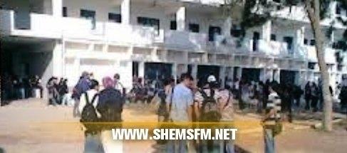 Monastir : Une partie du Lycée Fatouma Bourguiba incendiée  Media_temp_1422529852