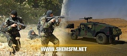 مدنين:قوات الجيش الوطني تتمكن ابطال مفعول الذخائر مخزنة الارض 06/03/2015 media_temp_142564511