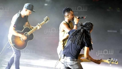 Festival international de Carthage : spectacle de Black M (photos Salah Lahbibi)