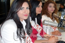 Shems FM Photos : 5 candidates de Miss Tunisie dans Dedinight!
