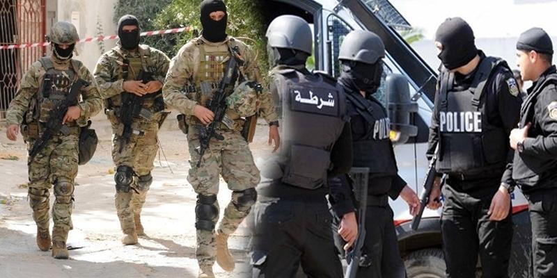 SIdi Bouzid: démantèlement d'une cellule terroriste composée par 4 suspects