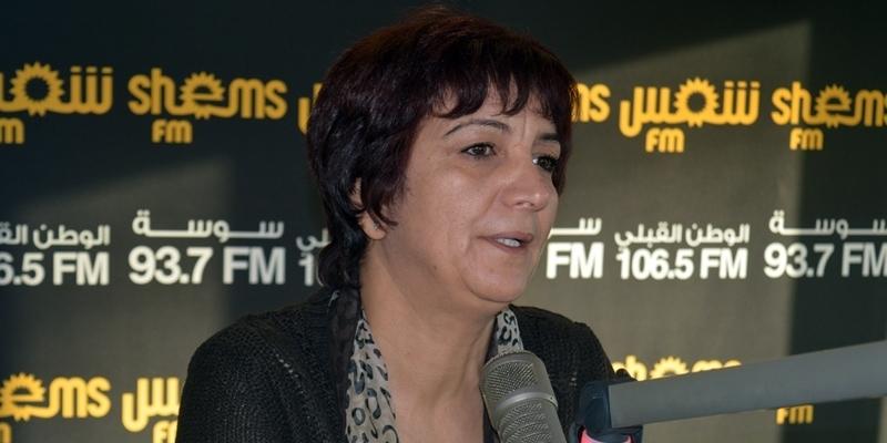 Samia Abbou : faites taire Rached Ghannouchi !!