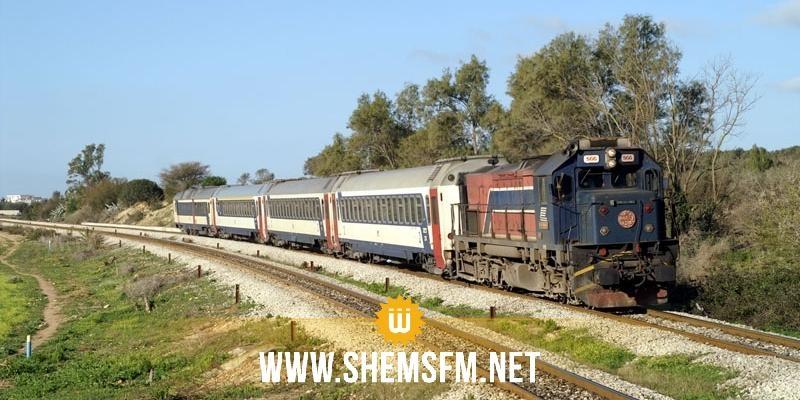 دهس مواطن: توقف سير قطار صفاقس تونس على مستوى منطقة الزغابنية