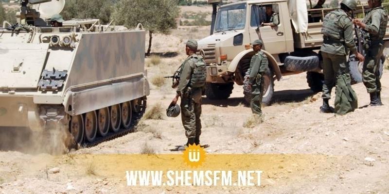 Kasserine : mont Samama : affrontements entre militaires et terroristes