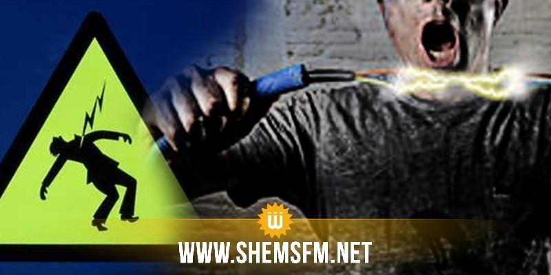 المنستير: حاول سرقة النحاس من المحول الكهربائي لأحد النزل فتعرض إلى صعقة كهربائية