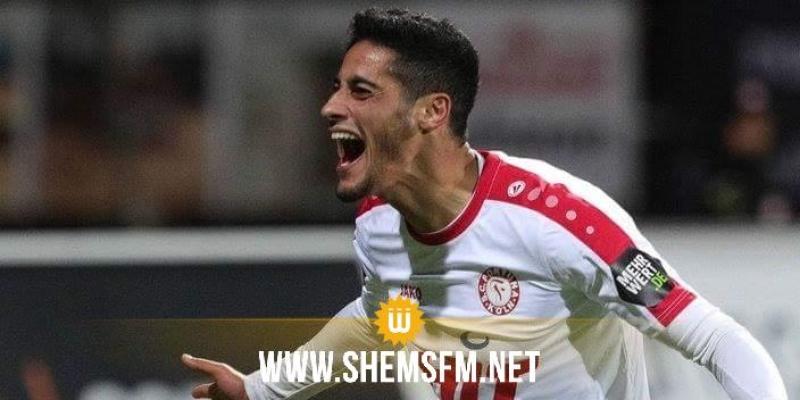 Le Club Africain intéressé par l'attaquant Hamdi Dahmani
