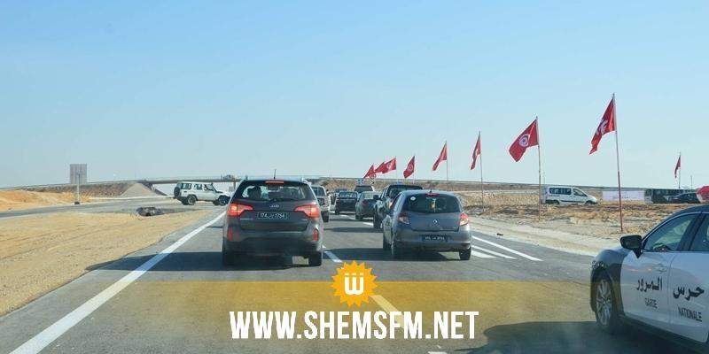 Inauguration du premier tronçon de l'autoroute Sfax/Gabes