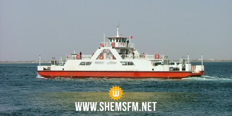 Le vent immobilise les ferrys de l'île de Djerba