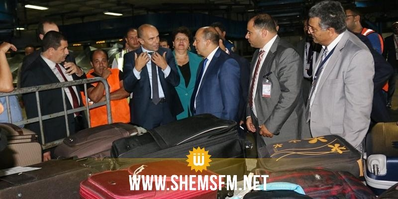 في أول يوم عمل وزير النقل الجديد يؤدي زيارة لمطار تونس قرطاج