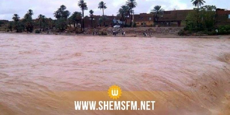 Ksar Ghilane: évacuation de 34 personnes bloquées à cause d'une inondation