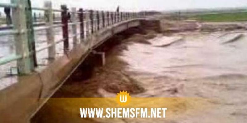 قابس: التقديرات الأولية لإصلاح الأضرار المسجلة على مستوى الطرقات وتدعيم المنشآت المائية والفنية