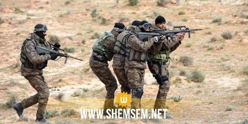 Kasserine : des confrontations entre les soldats de l'Armée Nationale et un groupe de terroristes