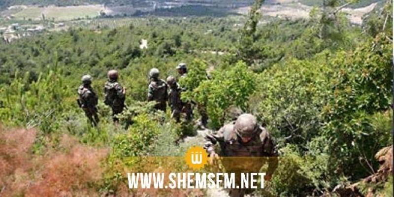 Opération militaire à Kasserine : saisie d'armes et de munitions