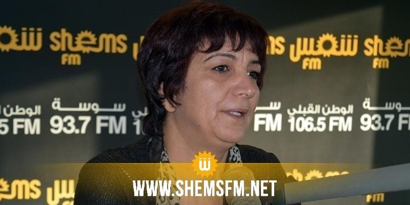 سامية عبو: 'هناك صراع لوبيات في البرلمان حول مشروع قانون المالية ل2018'