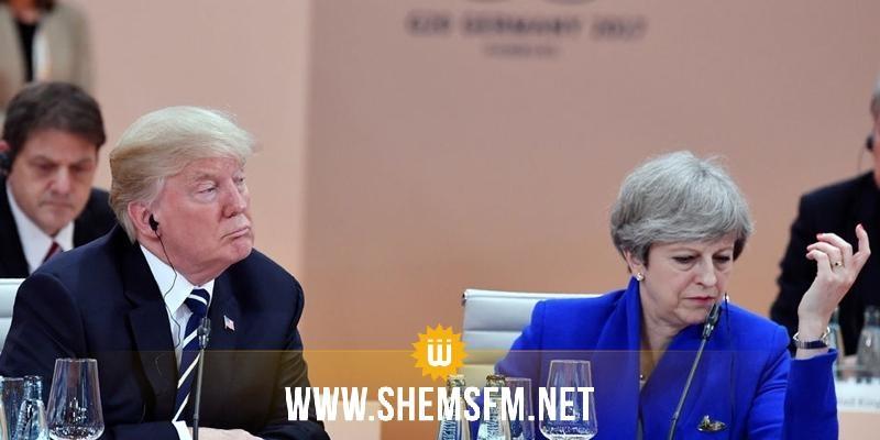 رئيسة وزراء بريطانيا لا تتفق مع قرار أمريكا نقل سفارتها للقدس