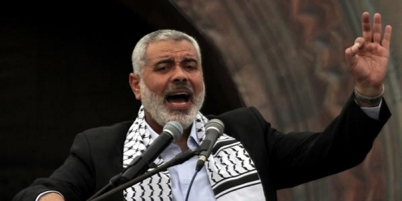إسماعيل هنية: ما يسمى بعملية السلام قُبرت الى الأبــد