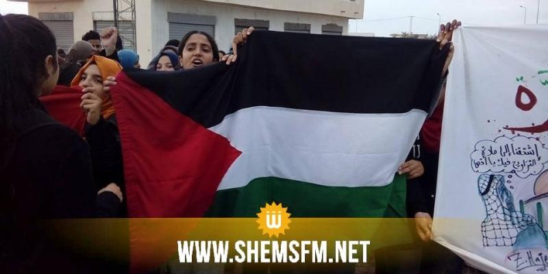 دفاعا عن القدس ..اتحاد الشغل يدعو الى تنظيم مسيرة وطنية غدا الجمعة