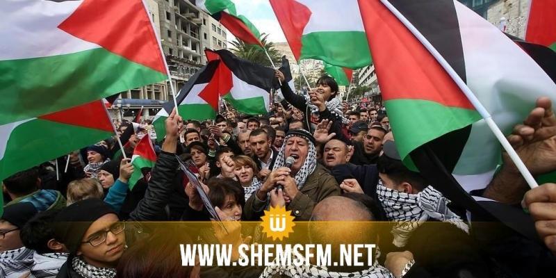 مسيرات في عدة جهات من الجمهورية للتنديد بإعلان القدس عاصمة للكيان الصهيوني (صور)