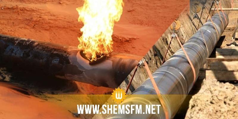 قابس - المدير الجهوي للحماية المدنية: اشتعال النيران بسبب تسرب النفط الخام