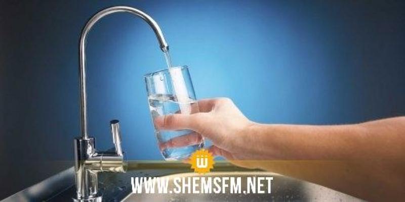 تسجيل إضطراب في توزيع الماء الصالح للشرب في نابل وسوسة والمنستير والمهدية وصفاقس من 16 الى 31 جانفي 2018