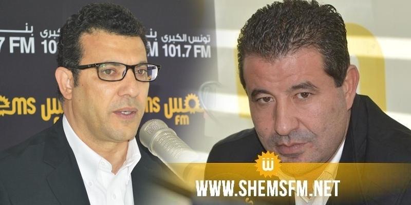 'منجي الرحوي و وسام السعيدي ضيفا برنامج 'هنا شمس
