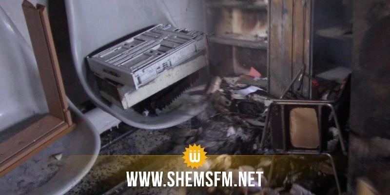 حرق مقر حزب العمال فى سليانة: رئيس الحكومة يُكلف وزير الداخلية بفتح تحقيق فوري