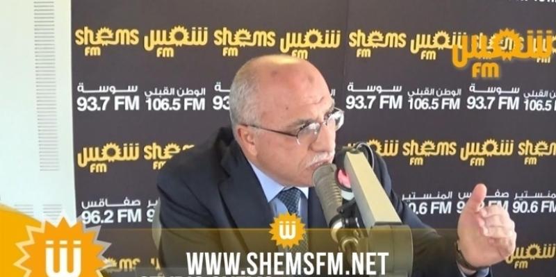 الهاروني: 'على الحكومة أن تكون قوية وتضرب الفاسدين والمحتكرين والمتهربين من الجباية'