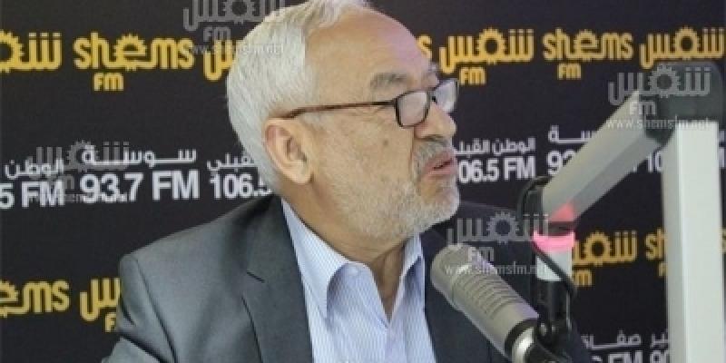 راشد الغنوشي: 'نود أن تتسع الحكومة لكل المكونات بما في ذلك الجبهة الشعبية'