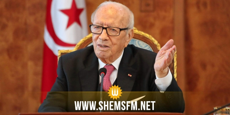 قايد السبسي: 'الحكومة مُطالبة باحترام مُقتضيات وثيقة قرطاج وإذا أخلّت هذا شيء آخر ننظر فيه'