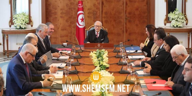 Béji Caïd Essebsi rencontre les signataires du Document de Carthage