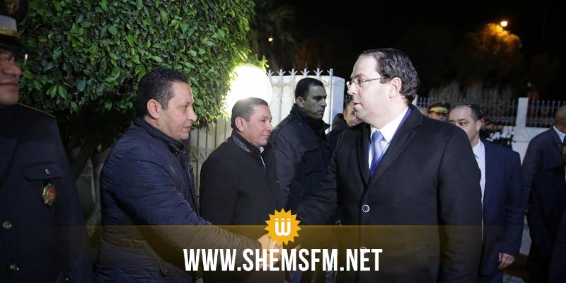 Ben Arous : Youssef Chahed effectue une visite surprise au district de la sécurité nationale